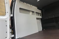 volkswagen caddy polc raktérburkolattal